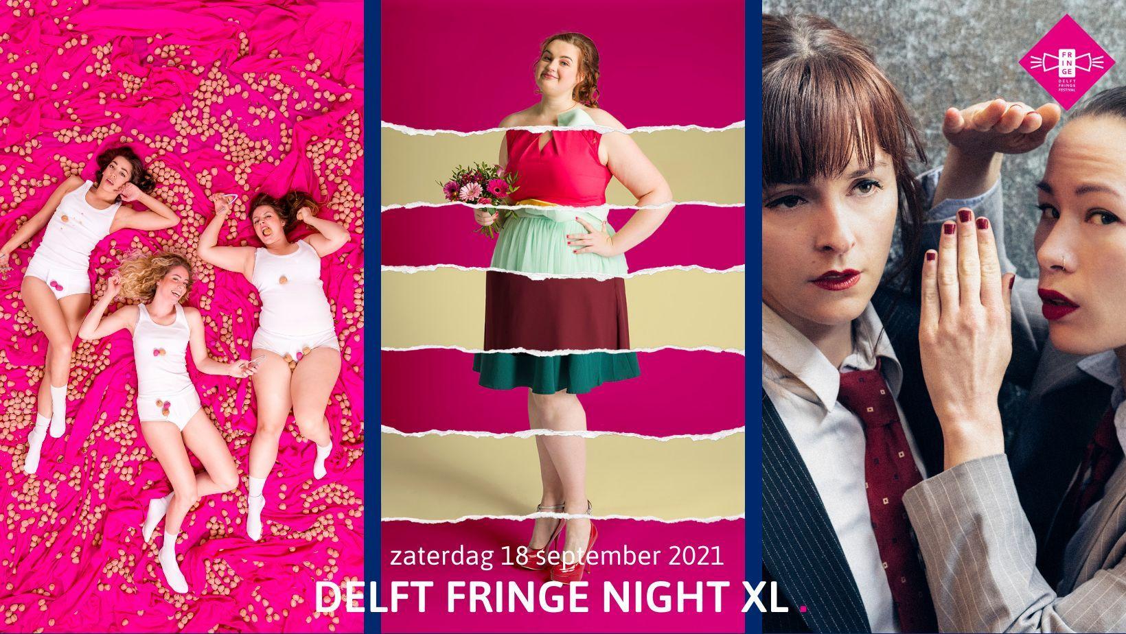Delft Fringe Night XL: Geniet van drie culturele parels!